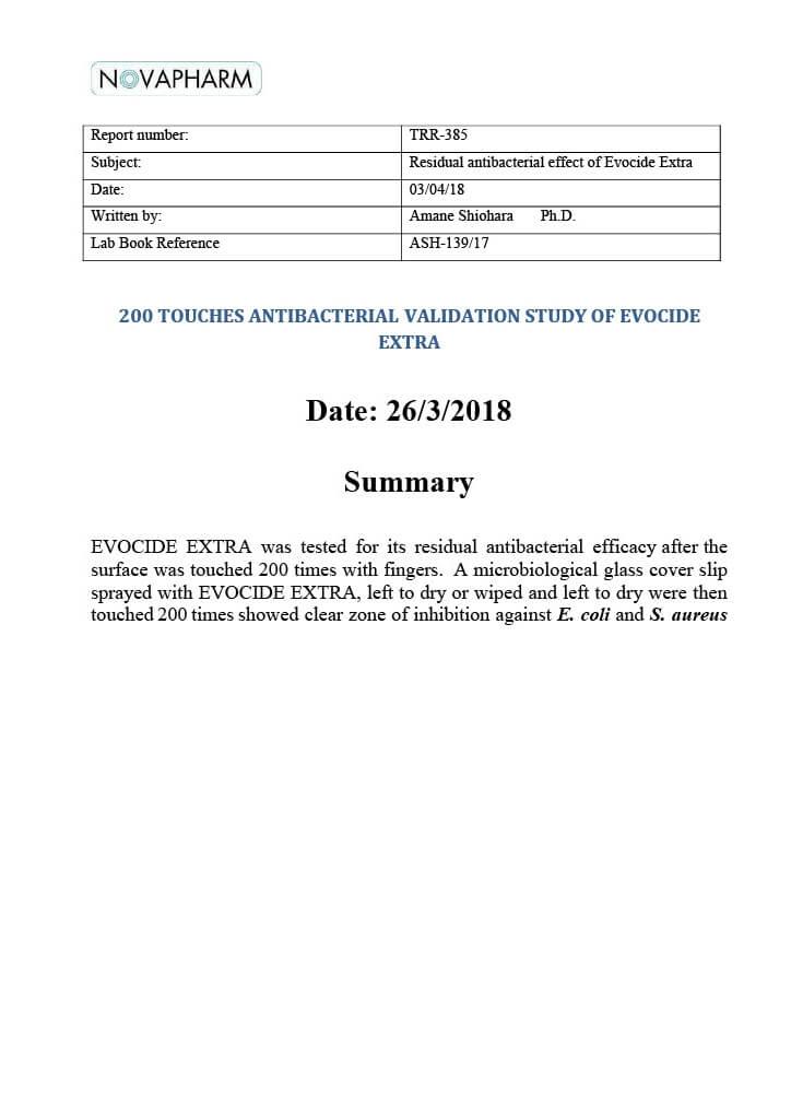 新加坡國家環境局 NEA 列入能有效消除2019冠狀病毒之產品